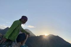 Suone und Sonnenaufgang