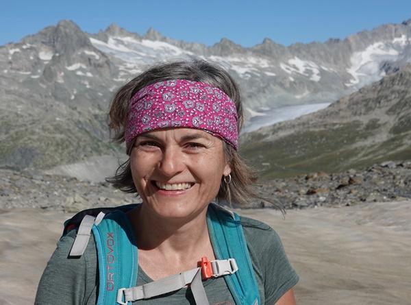 Wanderleiterin Katrin Lüthi Portrait