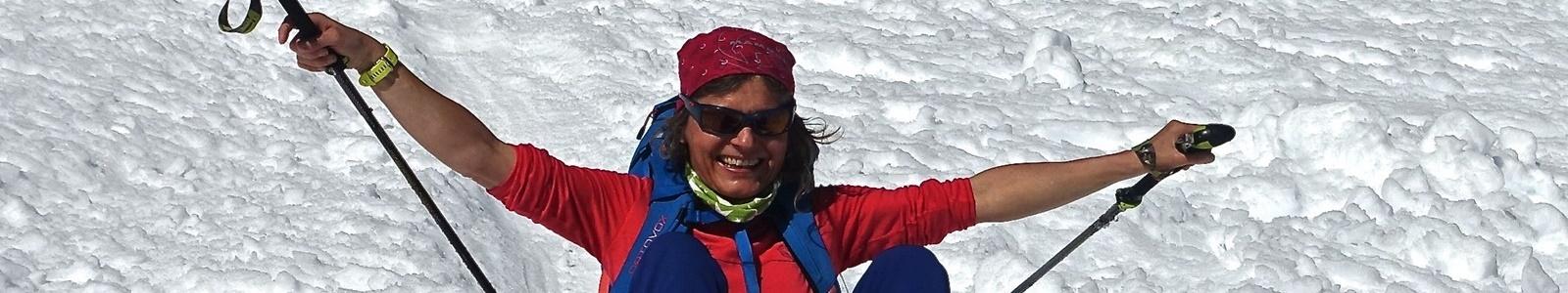 Wanderleiterin Katrin Lüthi
